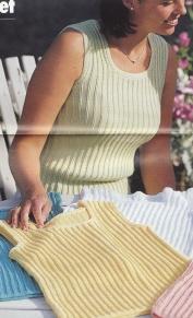 Stickat linne till vuxen och barn