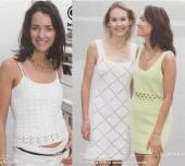 Virkade klänningar och linne